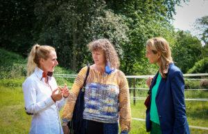 Marie Massmann, Andrea Milz MdB und Patricia Peill MdL | Foto: HZGM