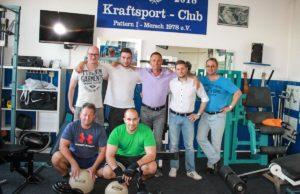 Vorstand des Kraftsport Club Pattern Mersch | Foto: Verein